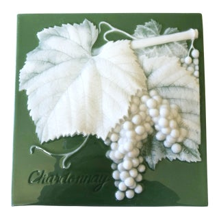 Chardonnay Grapes Tile / Trivet For Sale