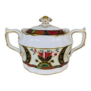 Royal Crown Derby Imari Chelsea Garden Covered Sugar Bowl For Sale