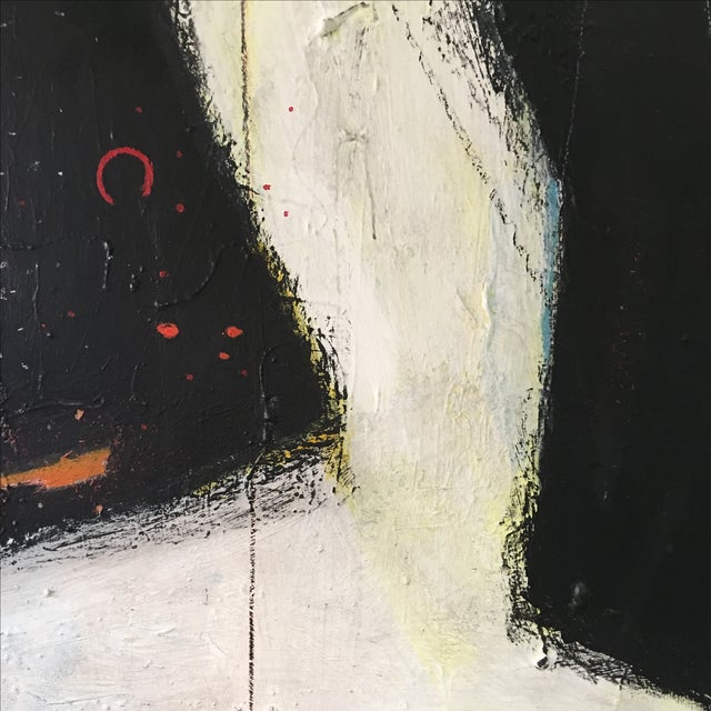 Large Abstract Expressionist Painting - Image 6 of 9