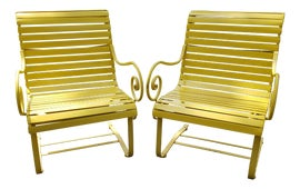 Image of Hollywood Regency Rocking Chairs