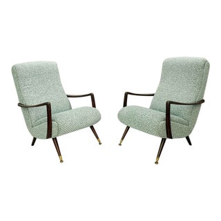 1950s Italian Armchairs - A Pair For Sale