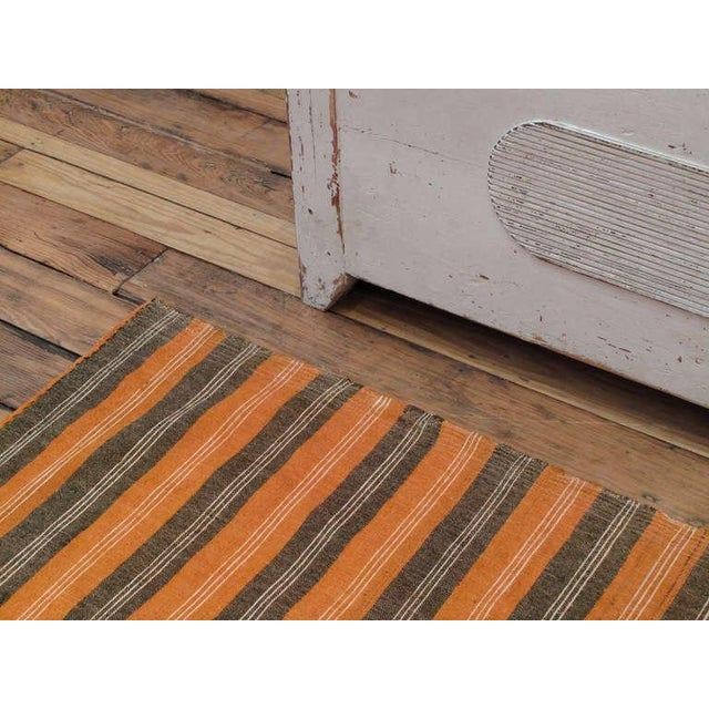 Primitive Striped Cover For Sale - Image 3 of 6