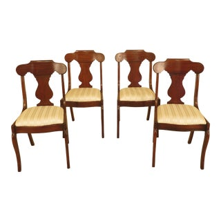 Pennsylvania House Cherry Dining Room Chairs - Set of 4 For Sale