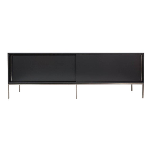 re: 379 lacquer and satin nickel credenza For Sale