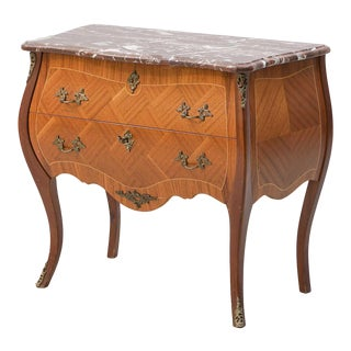 1930s Louis XV Style Commode Chest For Sale