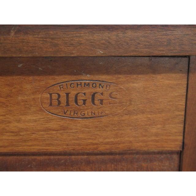1970s Biggs McFarland Inlaid Mahogany Federal Sideboard For Sale - Image 12 of 13