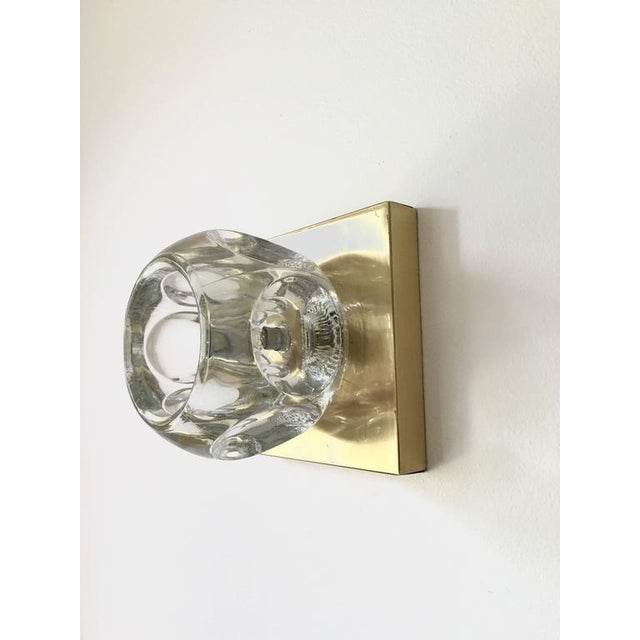 Sciolari Glass & Brass Sconce - Image 3 of 10