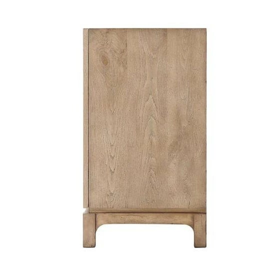 Mid Century Oak Cabinet For Sale - Image 4 of 6