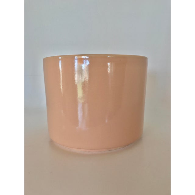 Gainey Mid Century Modern Pink Tabletop Planter - Image 4 of 9