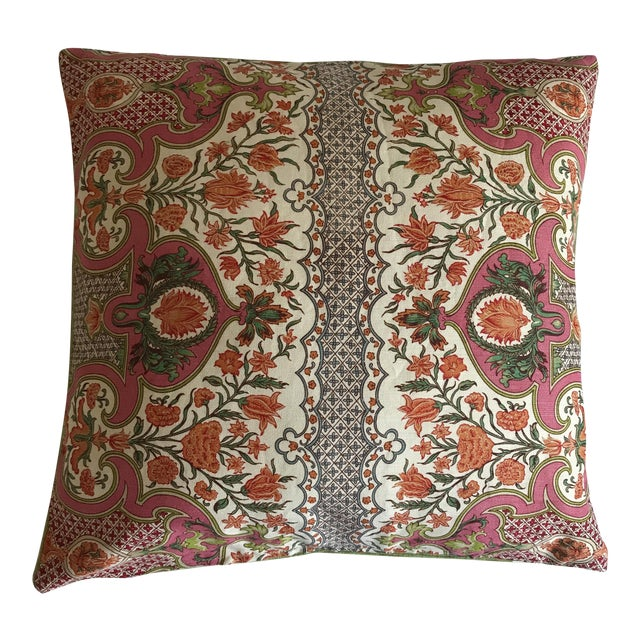 Brunschwig Fils Digbys Tent Pillow Cover - Image 1 of 9