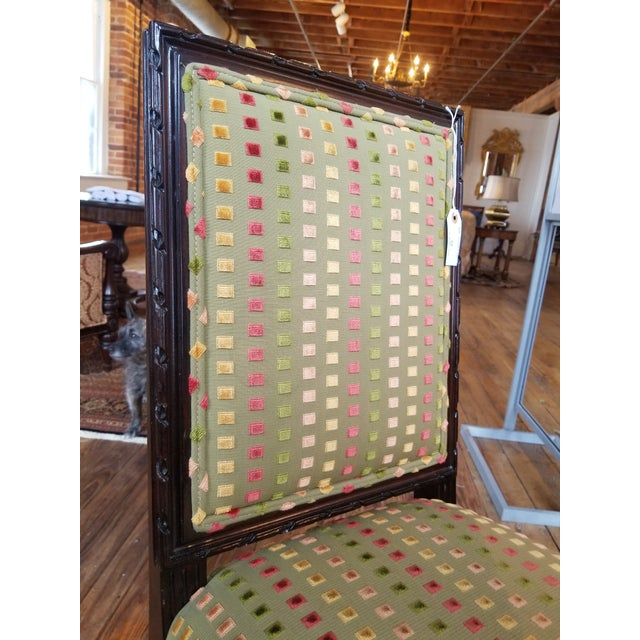 1980s Lewis Mittman Side Chair For Sale In Raleigh - Image 6 of 12