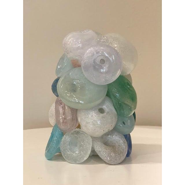 Modern Blown Glass Art Sculpture For Sale - Image 4 of 13