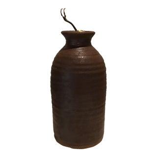 Mid-Century Pottery Lamp Base