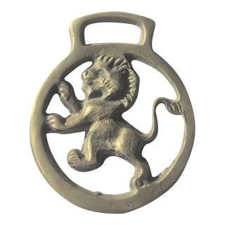 Vintage Lion Brass Bottle Opener