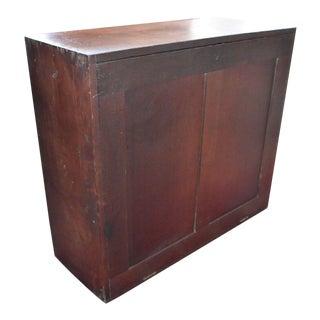 Antique Drop Front Mail Sorter File Cabinet For Sale
