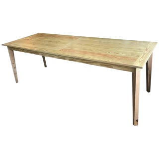 On Sale!! Monumental French Farm Table -We Can Paint for You! Custom Made.