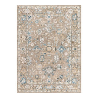 Peyton Monte Traditional Oriental Gray Taupe Area Rug - 5' x 8'