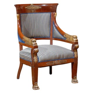 Mid 19th Century Period Empire Chair For Sale