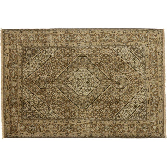 Mid 20th Century 20th Century Azerbaijan Persian Rug - 6′ × 9′6″ For Sale - Image 5 of 6