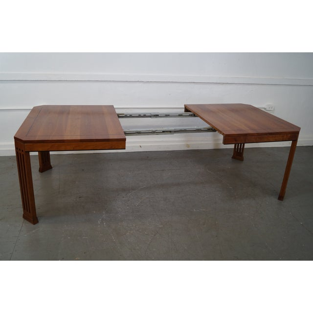 Stickley 21st Century Arts & Crafts Dining Table - Image 7 of 10