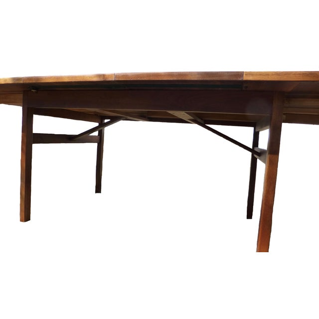 Jens Risom Dining Table With Two Leaves - Image 7 of 7