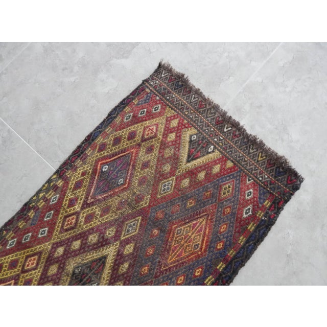 1970s Handwoven Anatolian Turkish Oushak Braided Kilim Rug For Sale - Image 5 of 8