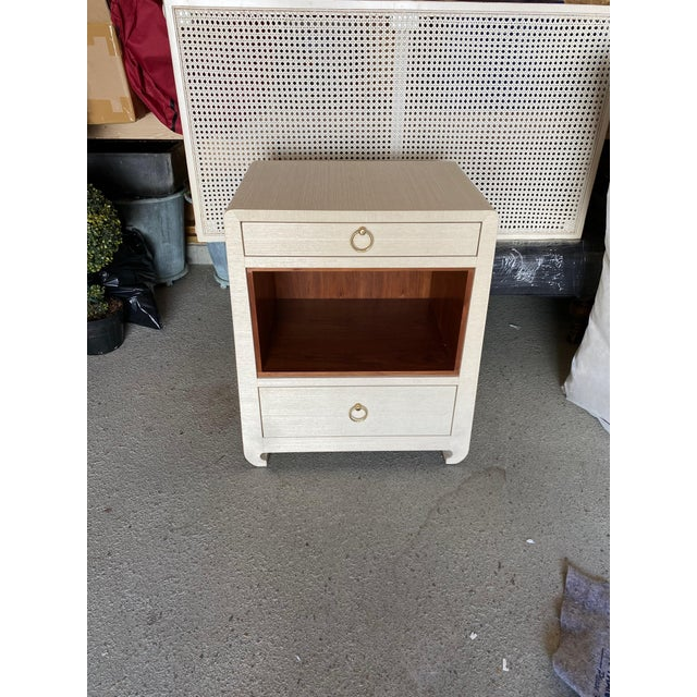 Bungalow 5 Ming White 2 Drawer Nighstand For Sale - Image 11 of 11