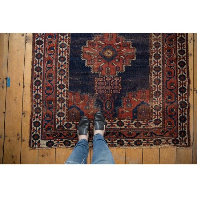 """Antique Fine Afshar Rug - 4'3"""" x 5'2"""" - Image 2 of 13"""
