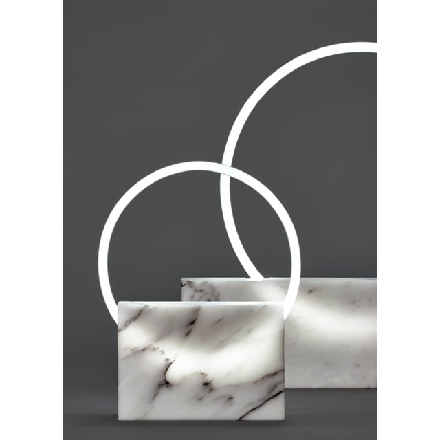 Onyx Table Lamp, Sabine Marcelis For Sale - Image 6 of 10