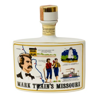 Vintage 1973 Mark Twain's Missouri Collector's Decanter For Sale