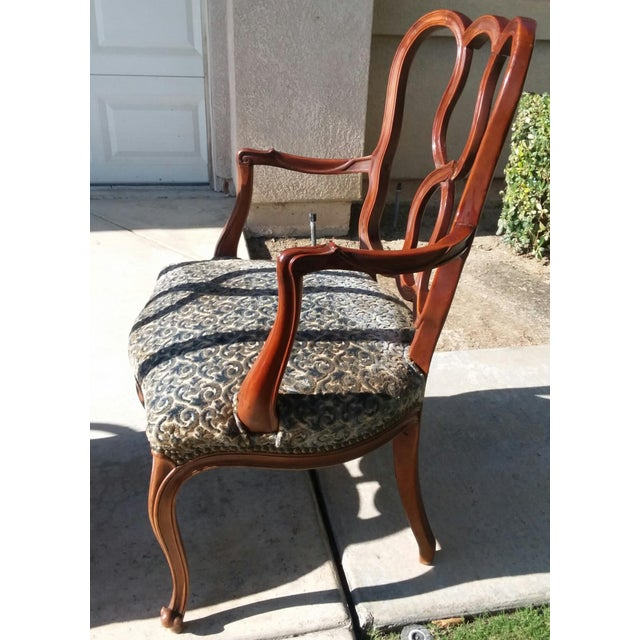 Early 20th Century Vintage Louis XV French Ribbon Back Chairs - Set of 6 For Sale In Los Angeles - Image 6 of 9