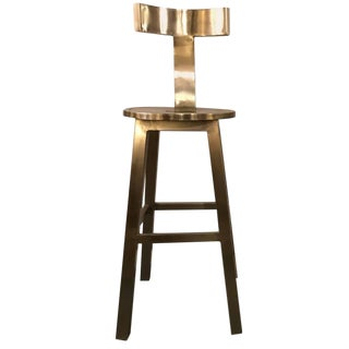 Deco Style Steel Bar Stool For Sale