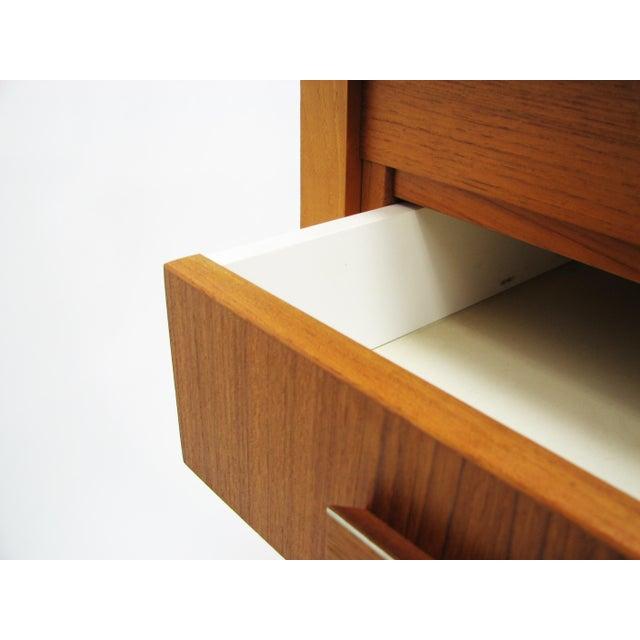 Chestnut 1960's Vintage Ejsing Møbelfabrik Teak Writing Desk For Sale - Image 8 of 11