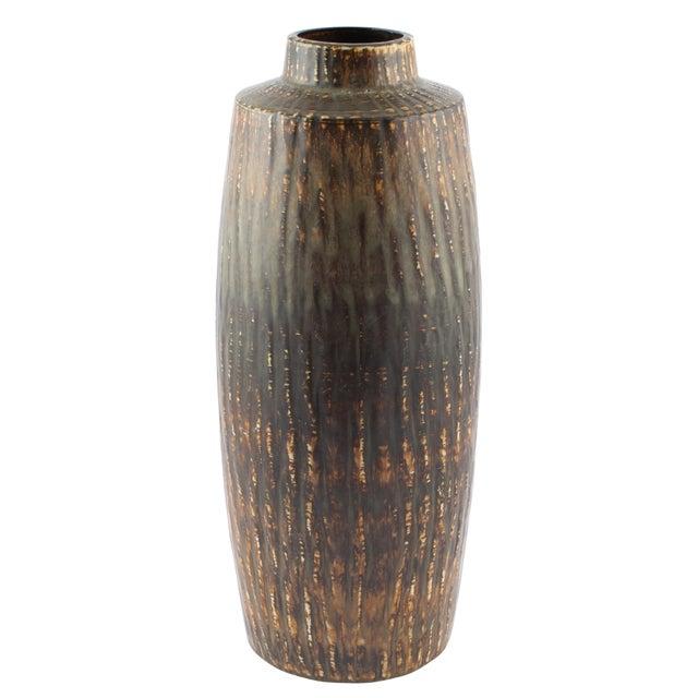 "Gunnar Nylund for Rørstrand ""Rubus"" Floor Vase Circa 1950s For Sale - Image 10 of 10"