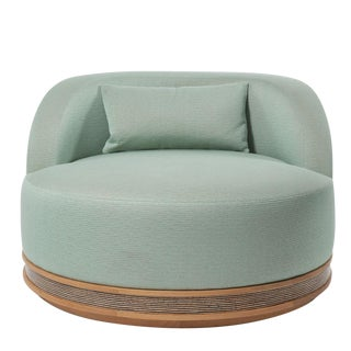 Pinto Paris Round Swivel Seat Armchair