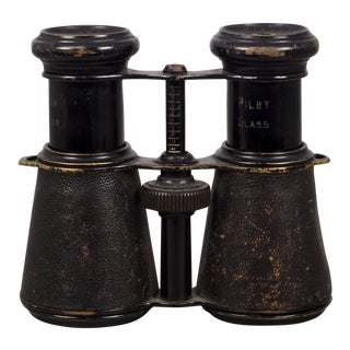 French Military Galilean Binoculars by Jacques F. T. Paris C. 1880