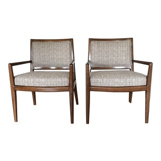 Vintage Mid Century Chairs- Newly Reupholstered For Sale