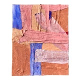 Image of Multi-Colored Plaster and Acrylic Abstract Painting by Virginia Chamlee For Sale