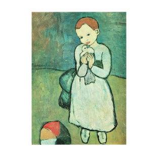 "Pablo Picasso, ""Child With a Dove"" Period Parisian Photogravure For Sale"