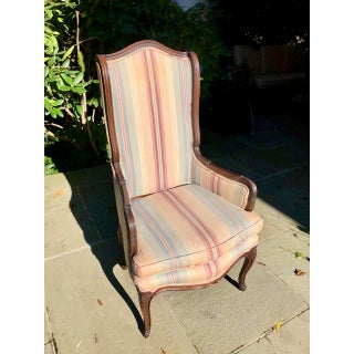 1930s Vintage French Wingback Chair Preview