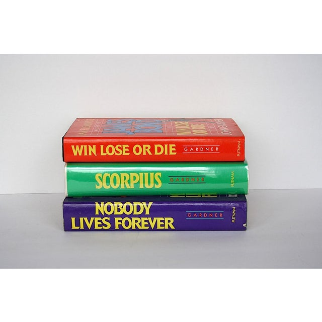 Vintage James Bond Book Collection - Set of 3 For Sale In New York - Image 6 of 7