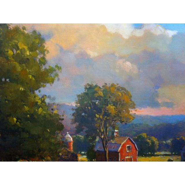 John Traynor John C. Traynor, New England Farm, 1991 For Sale - Image 4 of 9