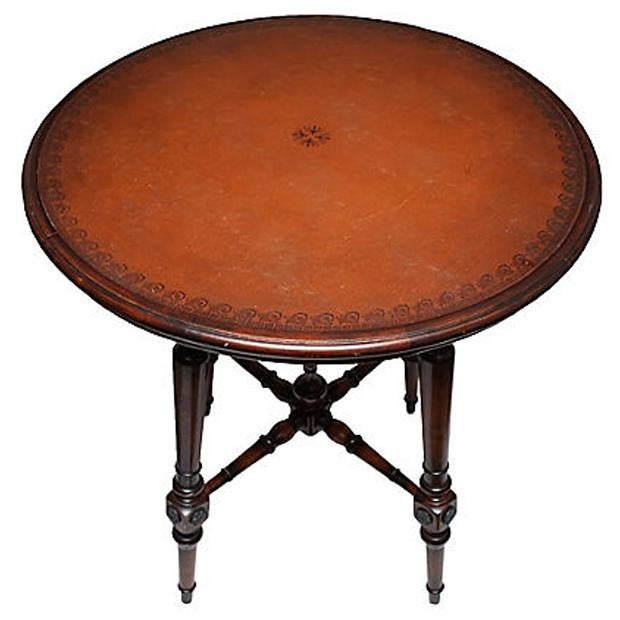 Spanish Colonial Style Game Table & Chairs Set - Set of 5 - Image 5 of 11