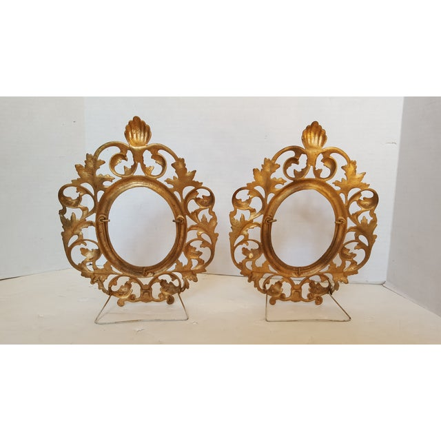 Bronze Picture Frames - Pair - Image 3 of 3