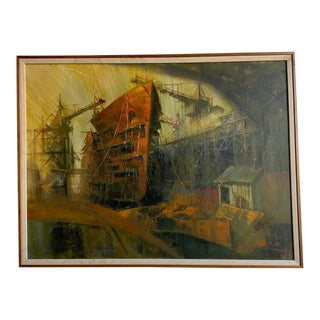 1964 Bill Ryan Painting For Sale