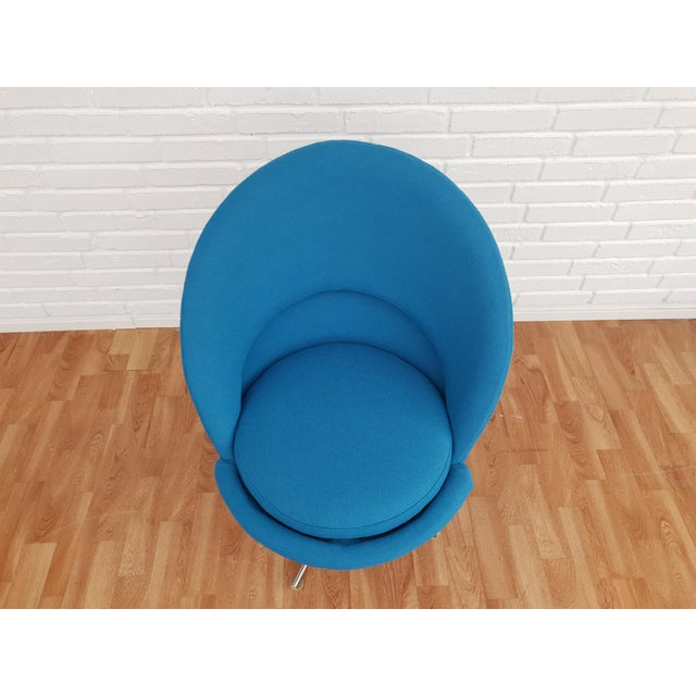 """1970s Vintage Verner Panton """"Cone"""" Chair For Sale - Image 10 of 13"""