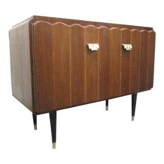 Italian Art Deco Cabinet / Credenza For Sale