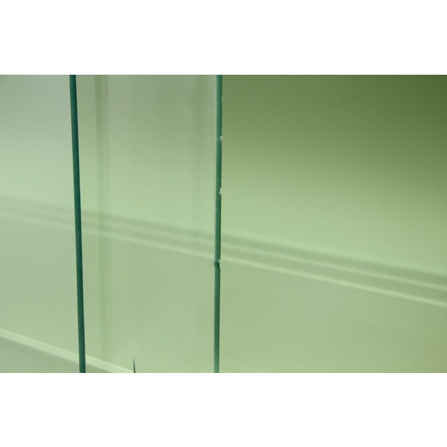 Basic Witz Midcentury Green Sideboard For Sale - Image 9 of 11