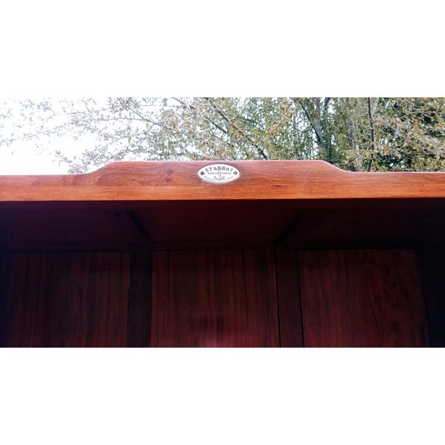 Brown Starbay Rosewood Marco Polo Bookshelf Bookshelves - a Pair For Sale - Image 8 of 12