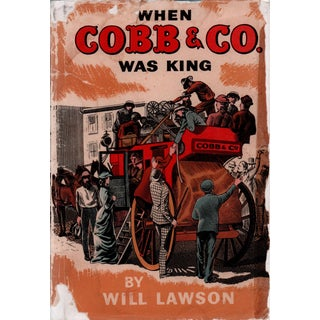 """1947 """"When Cobb & Co. Was King"""" Collectible Book For Sale"""